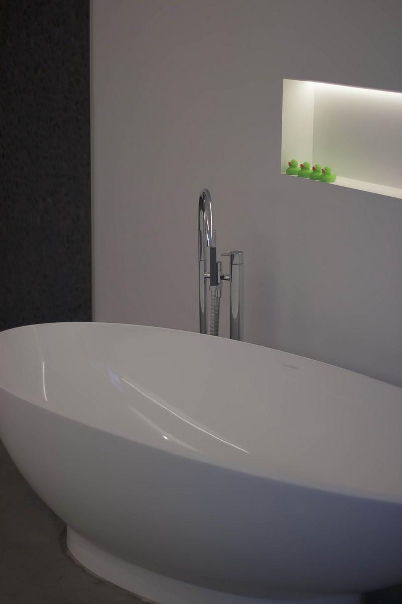 Bad op Zijkant